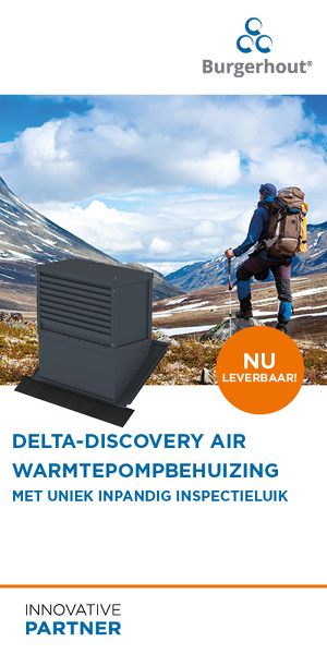 Delta Discovery Air warmtepompbehuizing