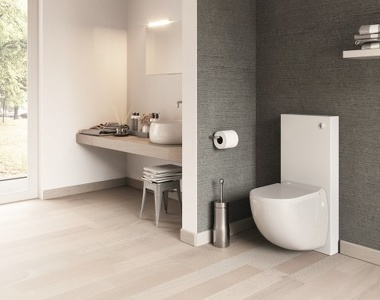 Sanicompact® Comfort Box toilet: fraai design, optimaal comfort