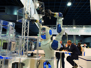 Robotica Paviljoen op de World of Technology & Science 2016