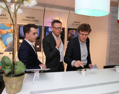 Smart home concept store geopend
